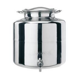 anforella contenitore alimenti inox 18/10 olio, miele