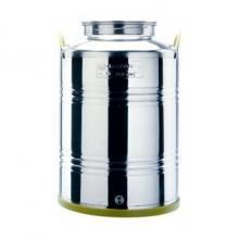 contenitori inox olio extravergine d'oliva