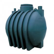 Serbatoi in polietilene cilindrici orizzontali da interro